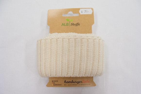 Rib heavy knit offwhite