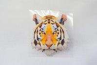 Tiger holografic 7x7cm