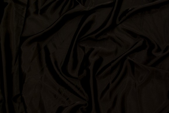 Stretch sateen in black