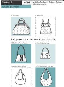 Onion pattern: Handbags 2