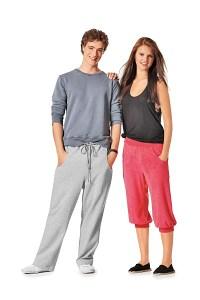 Burda pattern: Pants