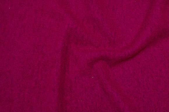 Cherry-red, felt wool