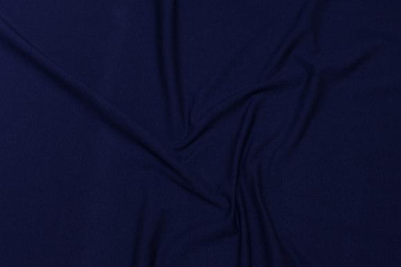 Navy blue cotton-jersey