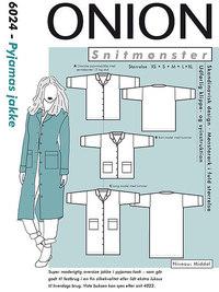 Onion pattern: Pyjamas jacket
