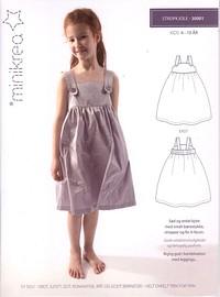 Strap dress. Minikrea 30001.