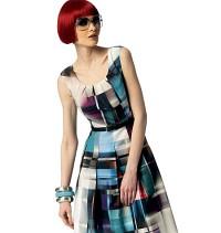Vogue 1353. Petite Dress - Kay Unger.