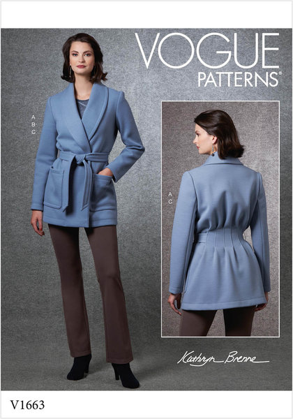 Jacket, Top and Pants. Kathryn Brenne