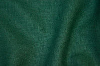 Bottle-green pure linen in beautiful quality