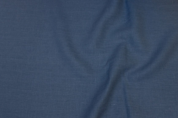 Dove-blue pure linen in beautiful quality