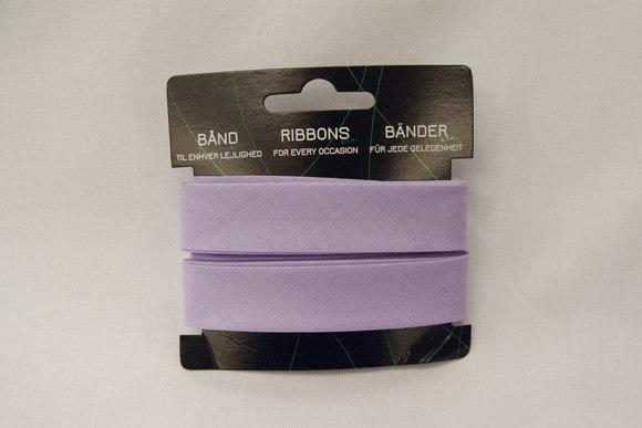 Light lilac bias tape, 5 meter
