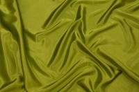 Light stretch sateen in kiwi