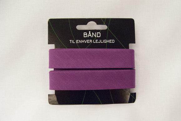 Lilac bias tape, 5 meter