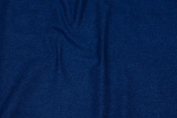 Medium-thickness denim, washed, 10½ oz.