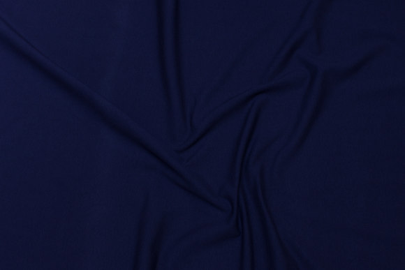 Navy blue cotton-jersey