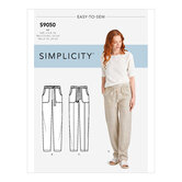 Pull On Pants With Pockets. Simplicity 9050.