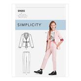 Girls Jacket and Pants. Simplicity 9055.