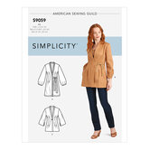 Jacket In Three Lengths. Simplicity 9059.