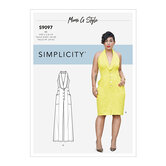Dress and Jumpsuit. Simplicity 9097.