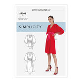 Dress and Top With Tie Belt. Simplicity 9098.