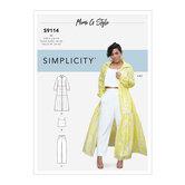 Dress, Top and Pants. Simplicity 9114.