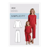 Childrens and Top and Pants. Simplicity 9121.