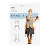 Dresses. Simplicity 9122.