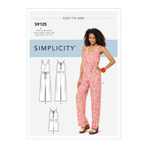 Dresses and Jumpsuits. Simplicity 9125.