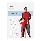 Boys Sleepwear. Simplicity 9128.