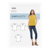 Tops. Simplicity 9133.