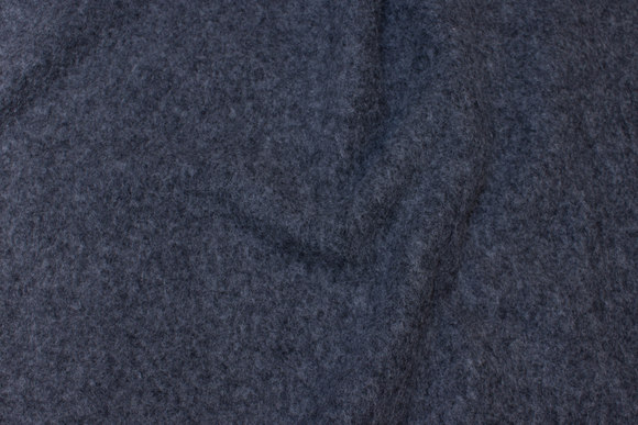 Speckled, grey felt wool
