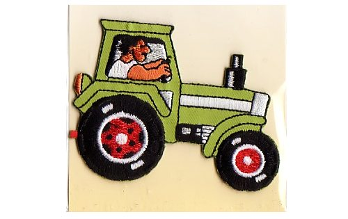Ironing patch with tractor