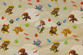 Sand-colored cotton-jersey with Paw Patrol