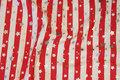 1 cm stripes. 1 cm stars.