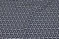 Deko-fabric in sand and black