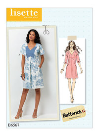 Butterick 6567. Dress.