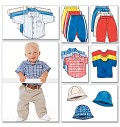 Butterick 5510. Shirt, T-Shirt, Pants and Hat.