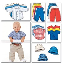 Shirt, T-Shirt, Pants and Hat. Butterick 5510.
