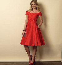 Dress. Butterick 6129.