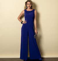 Dress and Jumpsuit. Butterick 6130.