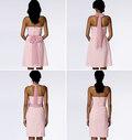 Butterick 6131. Dress and Sash.