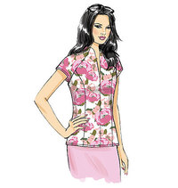 Top. Butterick 6134.
