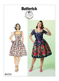 Butterick 6556. Dress.