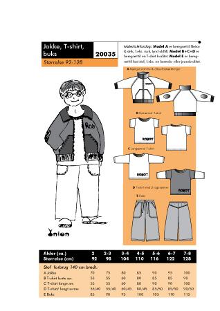 Jacket, T-shirts, Pants