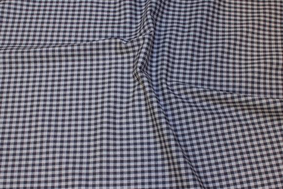 Cotton grey/grey 5mm squares