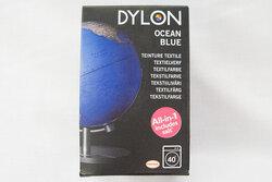 Dylon textile washing machine dye, ocean blue