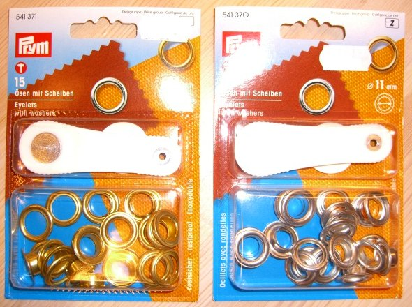Eyelets for tents, covers etc. 11 mm