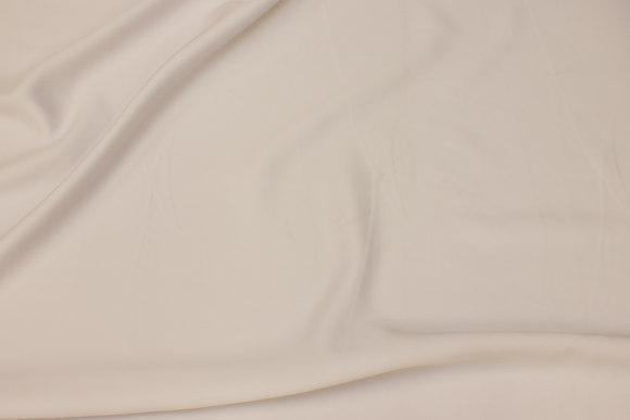 Matt micro-satin in white for dresses