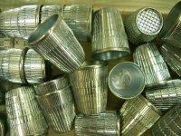 Metal thimble