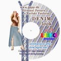 CD-rom no. 24 - Denim look.