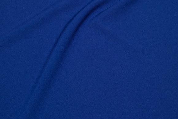 Polyester bi-stretch in light navy